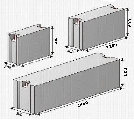 Бетона блоки цена мебель бетон светлый